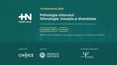 Impresii de la prima ediție Online a Conferinței Health Now, din noiembrie 2020