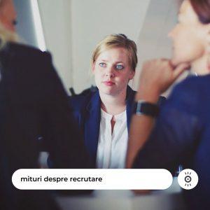 mituri despre recrutare